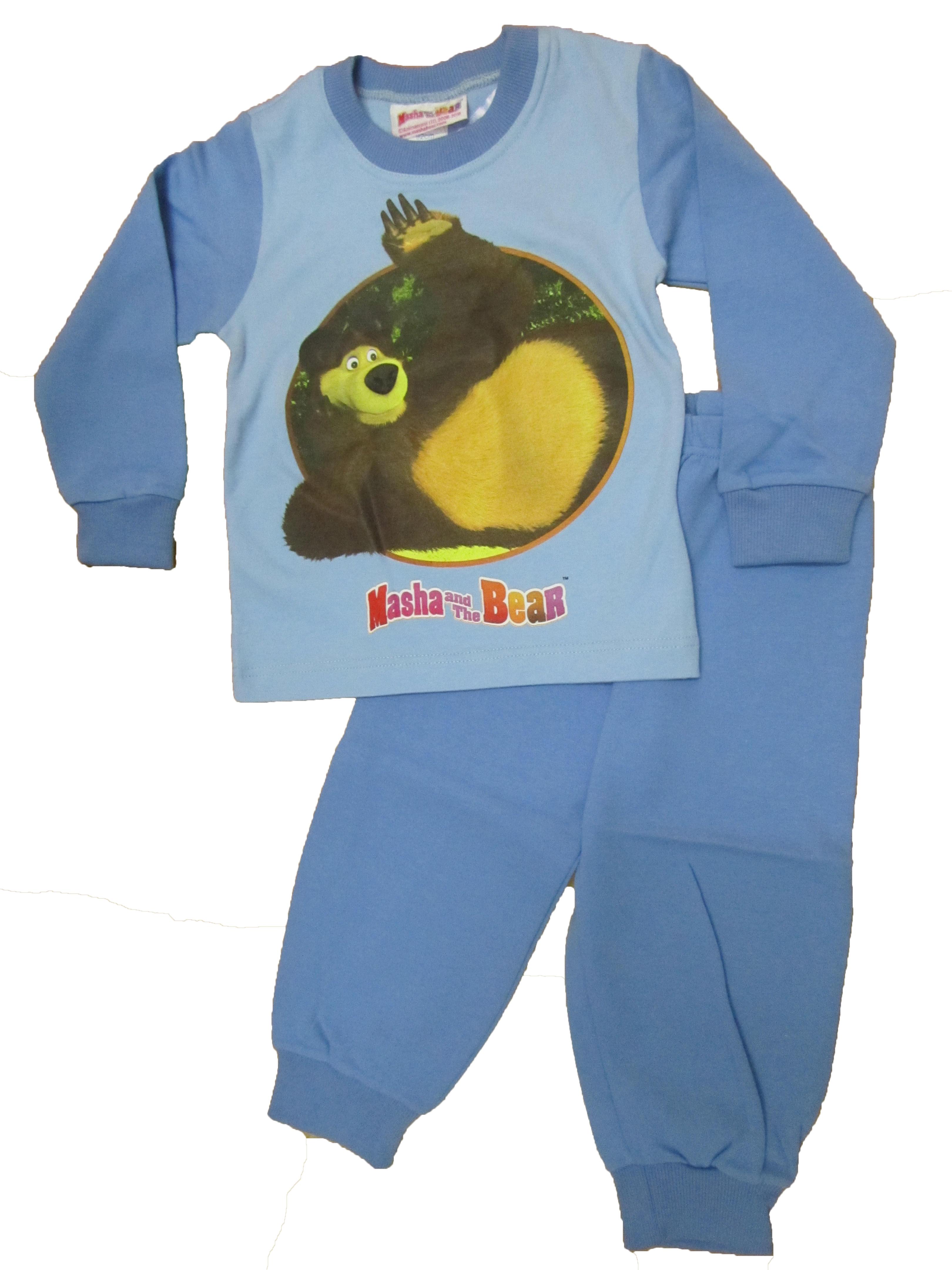 f770f4dd4304 Pyžamo Máša a Medveď-modré..č.116