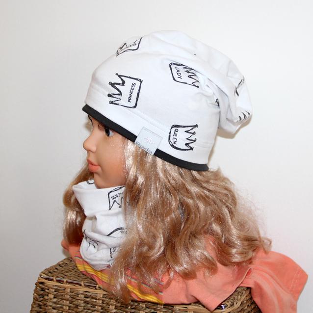6c8ce039b1c5 Čiapka KORUNKA - LADY predľžená biela alebo jemná púdrová farba empty