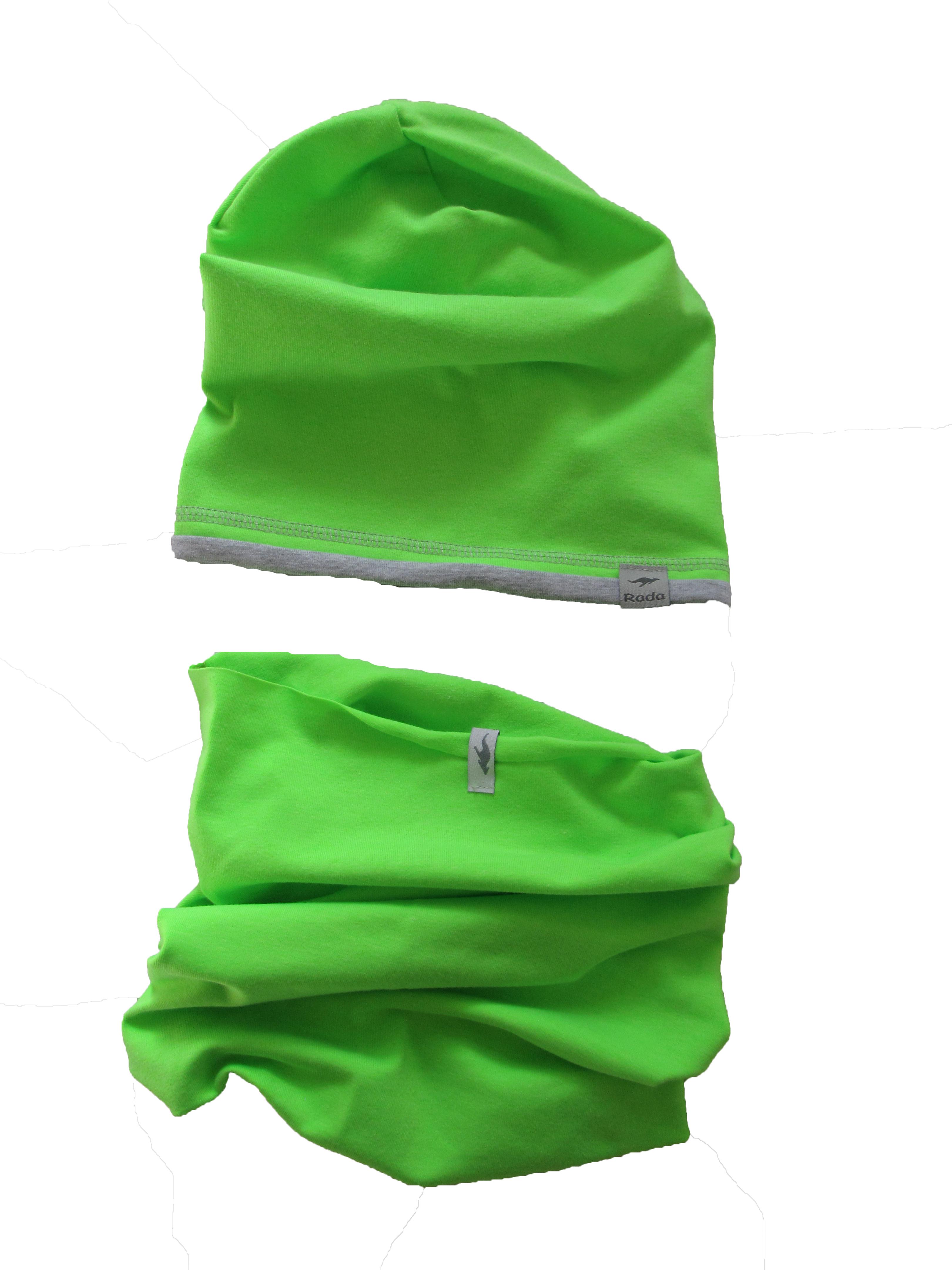 4b6b371ab Čiapka neonová zelená dlhá empty